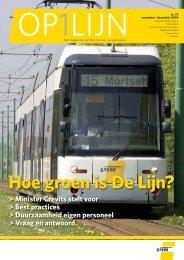 Hoe groen is De Lijn? (pdf - 2,70MB)