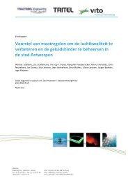 Studie maatregelen lucht en geluid - Stad Antwerpen