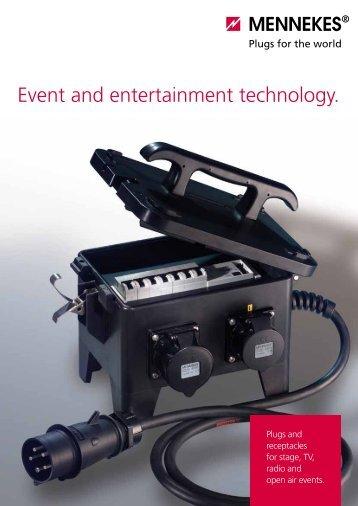 Event and entertainment technology. - Mennekes