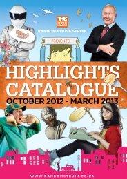 Highlights Catalogue - Random House Struik