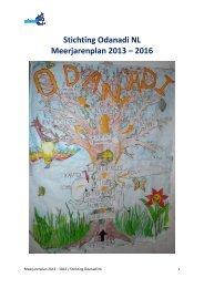 meerjaren beleidsplan - Odanadi NL