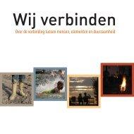 3.D.1 Duurzaamheid bij Movares: Brochure 'Wij verbinden'