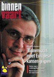 'Binnenvaart moet Europese kansen grijpen' - Promotie Binnenvaart ...
