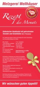 Grillpaket - Metzgerei Wellhäuser Ravensburg - Seite 2