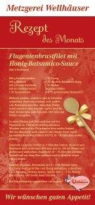 Feines zum Fest - Metzgerei Wellhäuser Ravensburg - Seite 2