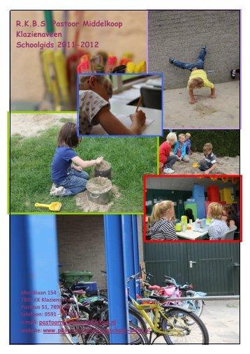 schoolgids 2011-2012 Pastoor Middelkoopschool versie Mark