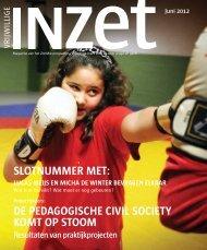 Juni 2012 - vrijwillige inzet voor en door jeugd en gezin