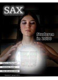 Studeren in 2030 - Sax.nu