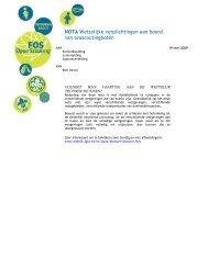 Wettelijke verplichtingen aan boord van seascoutsboten - FOS Open ...