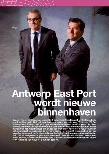Lees meer (PDF - 536Kb) - Antwerp East Port