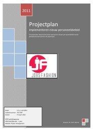Projectplan - De pagina is niet gevonden