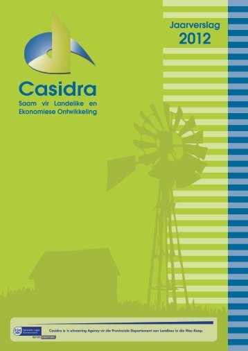 Casidra Afrikaans 2012 Annual Report