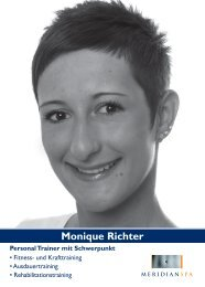Monique Richter - MeridianSpa