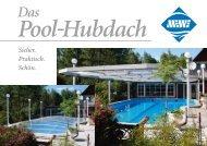 Pooldach quer Einzelseiten - MEWE GmbH