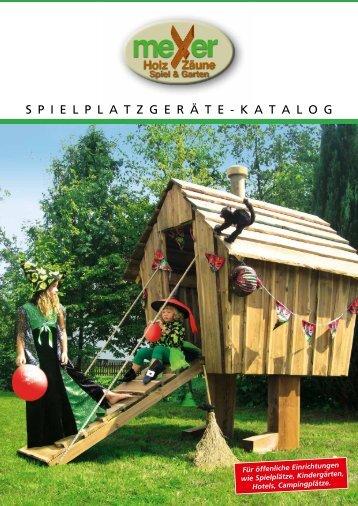 Spielplatzgeräte - Meyer-holz.de