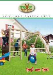 Spiel und Garten 2013 - Meyer-holz.de