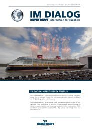 FIREWORKS GREET DISNEY FANTASY - Meyer Werft