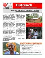 Outreach Oktober 2010 - Missionswerk FROHE BOTSCHAFT eV