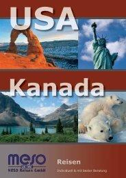 Reisekatalog USA & Kanada - MESO Reisen