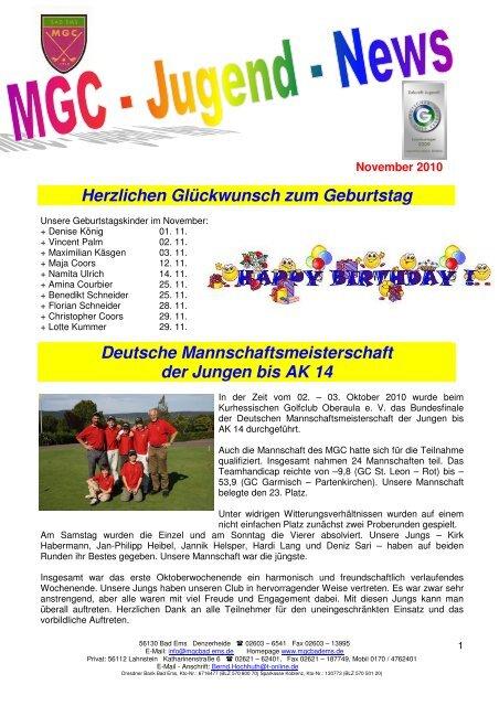 Herzlichen Gluckwunsch Zum Geburtstag Deutsche