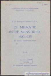 De migratie in de mijnstreek - deel 1 - Vijfeeuwenmigratie.nl