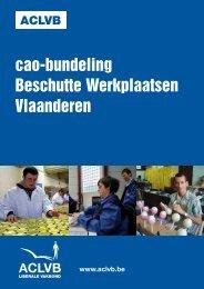 CAO Bundeling Beschutte Werkplaatsen Vlaanderen - aclvb