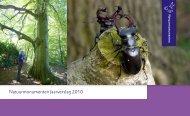 Jaarverslag Natuurmonumenten 2010