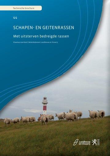 Schapen- en geitenrassen: Deel 1 - Met uitsterven bedreigde rassen