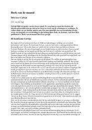 Boek van de maand - Drie keer Calvijn (J.W. - Woord en Wereld
