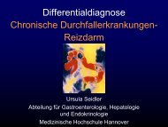 Differentialdiagnose Chronische Durchfallerkrankungen- Reizdarm