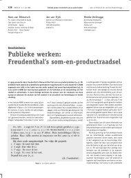 Publieke werken - Rineke Verbrugge