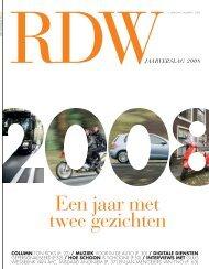 Jaarverslag 2008 - Jaarverslagen - RDW