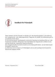Handbuch für Präanalytik (PDF)