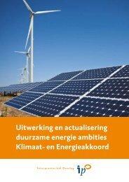 Rapport - Duurzame energie IPO - Ecofys
