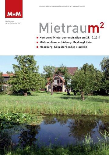 pdf zum Download - Mieter Helfen Mietern Hamburger Mieterverein eV