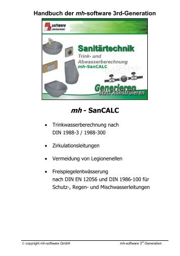 mh - SanCALC - mh-software GmbH