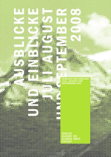 08 - Staatliche Akademie der Bildenden Künste Stuttgart