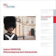 bedirect PROTECTOR: Effizienzsteigerung ... - bei der Abis GmbH
