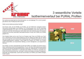 PURAL Vorteile im Überblick (PDF, 0,5 Mb). - Stahl & Metallbau ...