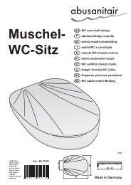Muschel- Wc-Sitz - Abu-plast Kunststoffbetriebe Gmbh