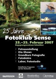 Flyer - Fotoklub Sense
