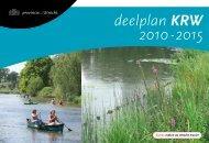Provinciaal Waterplan 2010 - 2015 deelplan ... - Provincie Utrecht