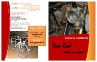 Exklusive Ausstellung Das Rad - Transportmittel der Vergangenheit ...