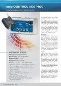 colorCONTROL ACS 7000 - Micro-Optronic - Seite 2