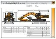 JCB RAUPENBAGGER | JS 240 NC/SC/LC
