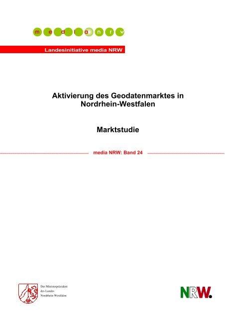 Aktivierung des Geodatenmarktes in Nordrhein-Westfalen - Bochum