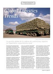 Global Logistics Trends 02/2009 - Miebach Consulting