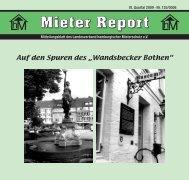 Mieter Report 3-2009 - Landesverband hamburgischer Mieterschutz ...