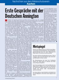 Juli - Mieterschutzverein Aachen