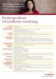 Productspecificatie Uitvaart Keuze Verzekering - WeAssist